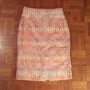 J. Crew 'Turkish Delight' pencil skirt
